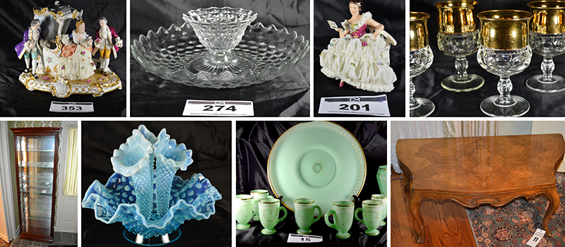 Hayes, Estate, Cherokee, Court, Tennessee, Murfreesboro, Glassware, China, Royal Doulton, Dresden, Boehm, Vintage, Waterford, Wedgewood, Hummell, Fenton, Fostoria, Lenox, Collectibles, Figurines, Auction, Comas, Montgomery,
