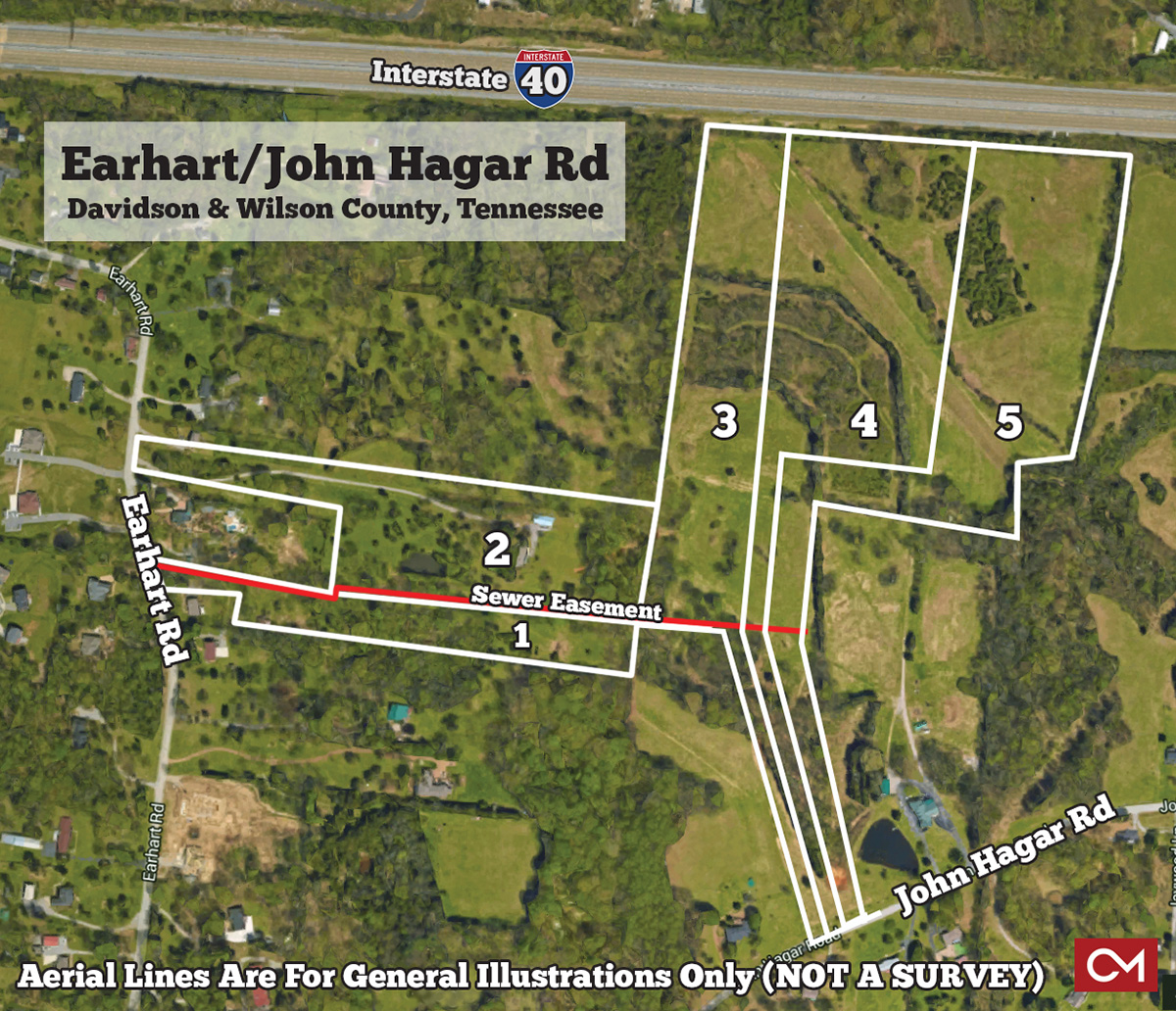 Land, For Sale, Nashville, Interstate 40, Davidson, Wilson, County, Tennessee, Hermitage, Dan, Liles, Farm, John, Hagar, Earhart, Road, Comas, Montgomery, Real Estate, Auction, Acres, Tract, House, Home
