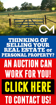 Thinking of Selling Your Real Estate or Personal Property? Contact Comas Montgomery Realty and Auction Co. - CLICK HERE!