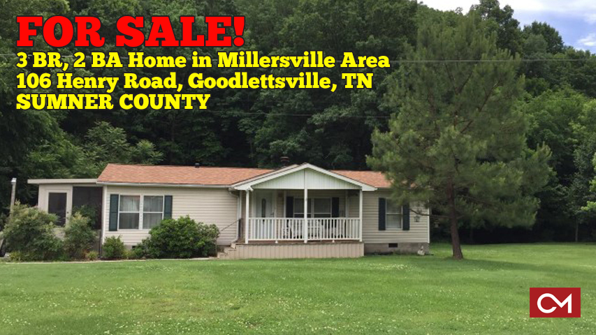 Home, House, For Sale, Appliances, Remain, Goodlettsville, Tennessee, Millersville, Area, Sumner, County, Middle, Nashville, Property, Investment, Debbie, Cate, Comas, Montgomery, Henry, Road