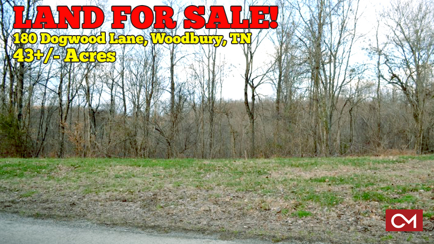 Land, Property, Acres, Pleasant, Ridge, Dogwood, Lane, Woodbury, Tennessee, Cannon, County, Murfreesboro, Comas, Montgomery