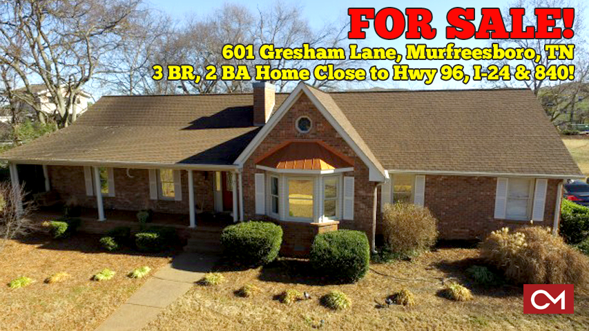 Real Estate, For Sale, Home, House, Blackman, Schools, 3 Bedrooms, Murfreesboro, Tennessee, Gresham, Lane, Property, Rutherford, County, Comas, Montgomery