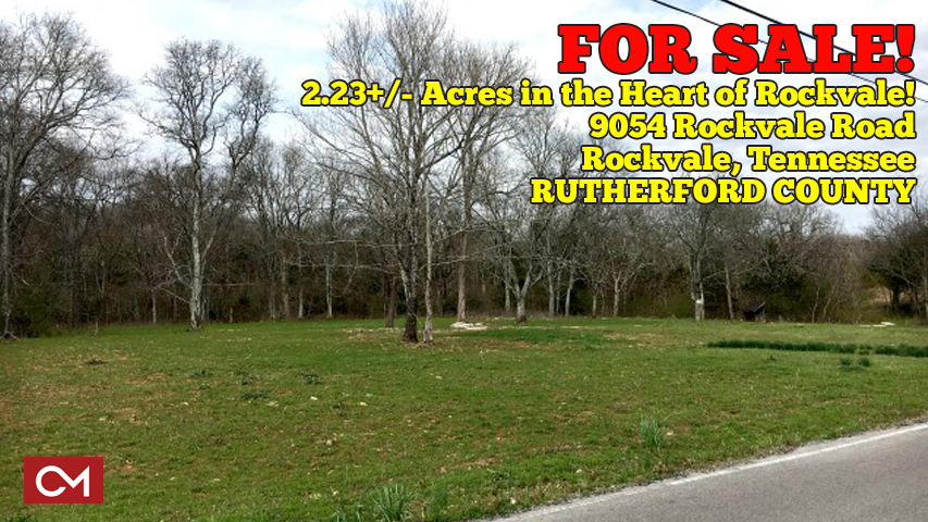 Land, For Sale, Real Estate, Murfreesboro, Rockvale, Tennessee, Acres, Property, Investment, Road, Frontage, Rutherford, County, Comas, Montgomery