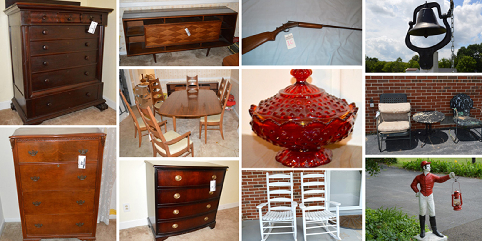 furniture, appliances, firearms, antiques, lawn, for sale, glassware, estate, sale, auction, comas, montgomery