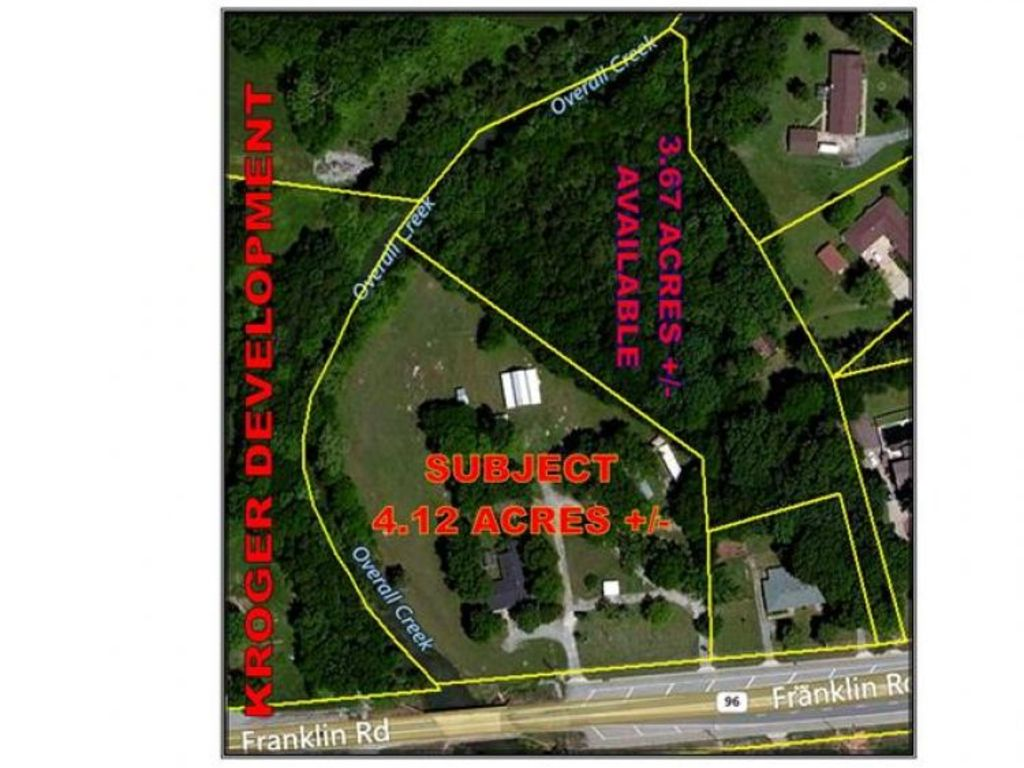 Commerical Real Estate Listing Franklin Rd Murfreesboro