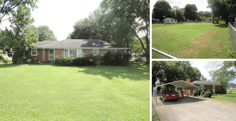 Auction 3br 2ba One Level Brick Home In Smyrna In