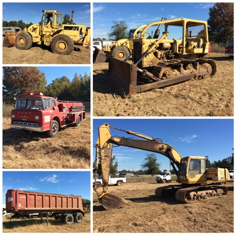 Tallahatchie County Surplus Machinery Auction Charleston Ms
