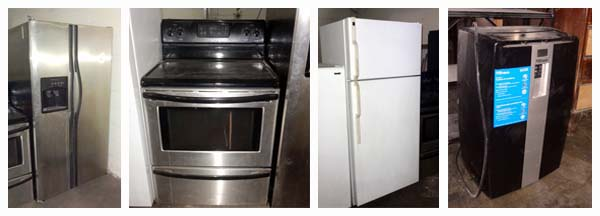 Phoenix door co liquidation auction for Frigidaire armoire