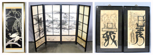 Japanese Wall Art and Screens
