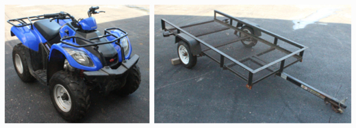 4 Wheeler & Trailer