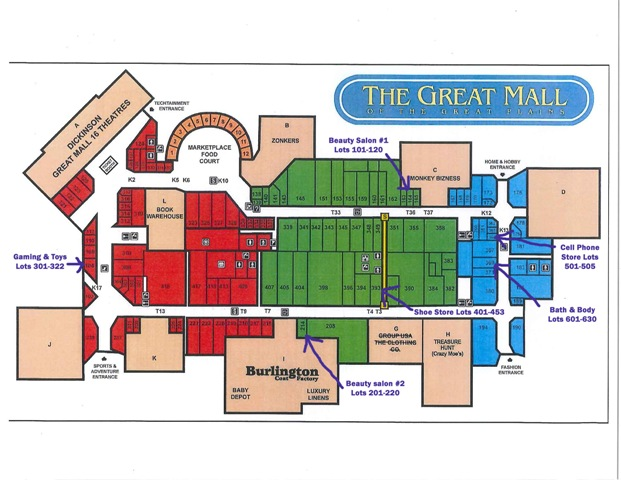 Great Mall Of The Great Plains Beauty Salon Liquidation