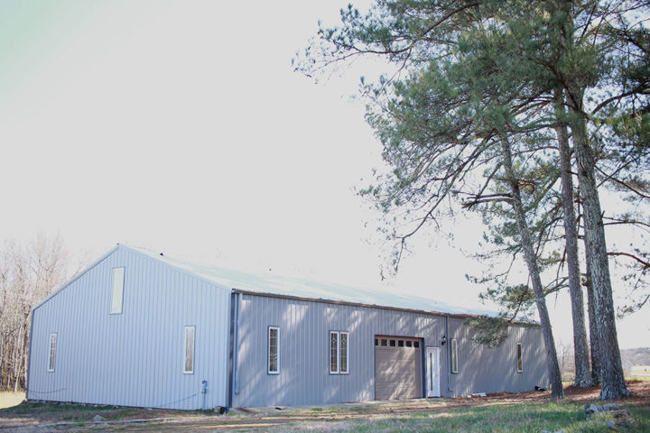 24 Acres Metal Building With Living Area In Ardmore