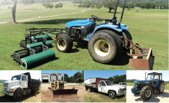 Collins River Auction Personal Property & Equipment,