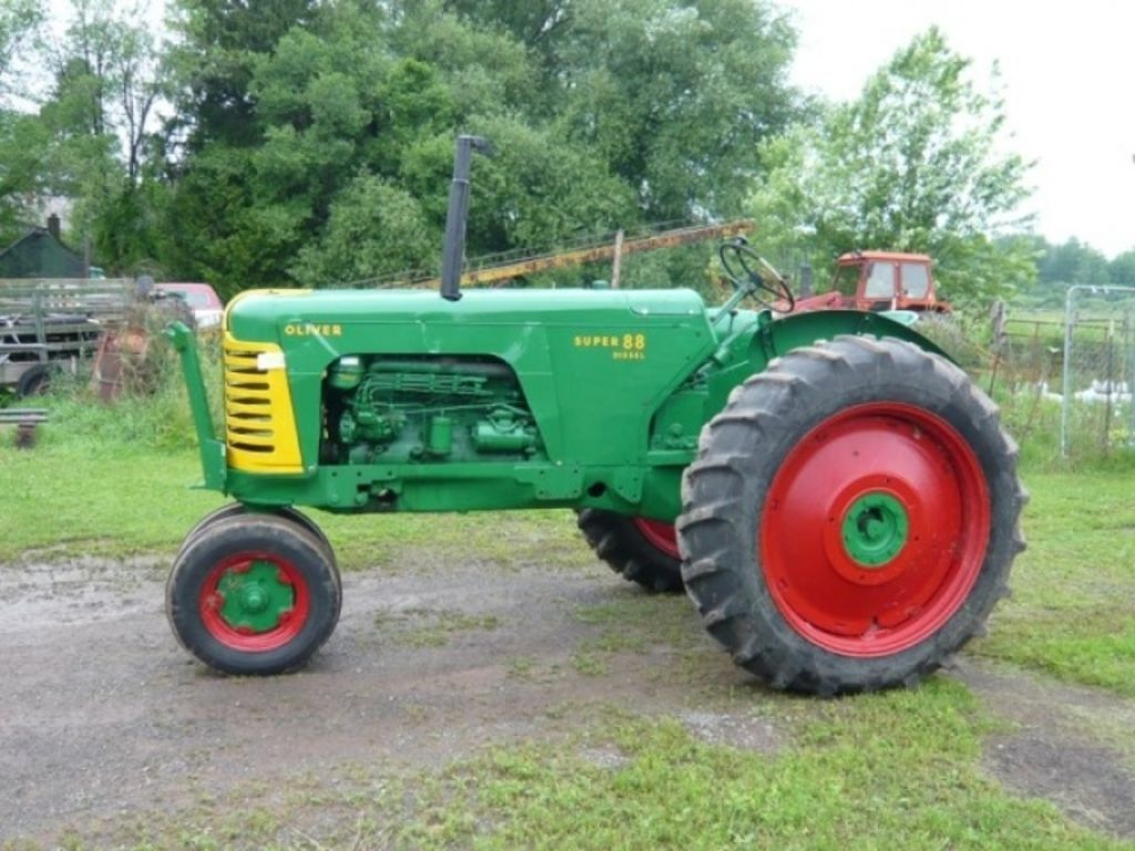 Tractor Implements And Attachments : Ford brothers inc s oliver tractors farm machinery