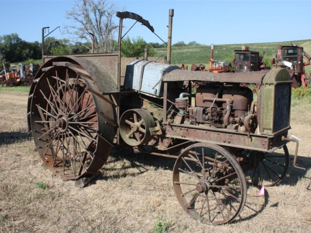 antique tractor oliver days auction