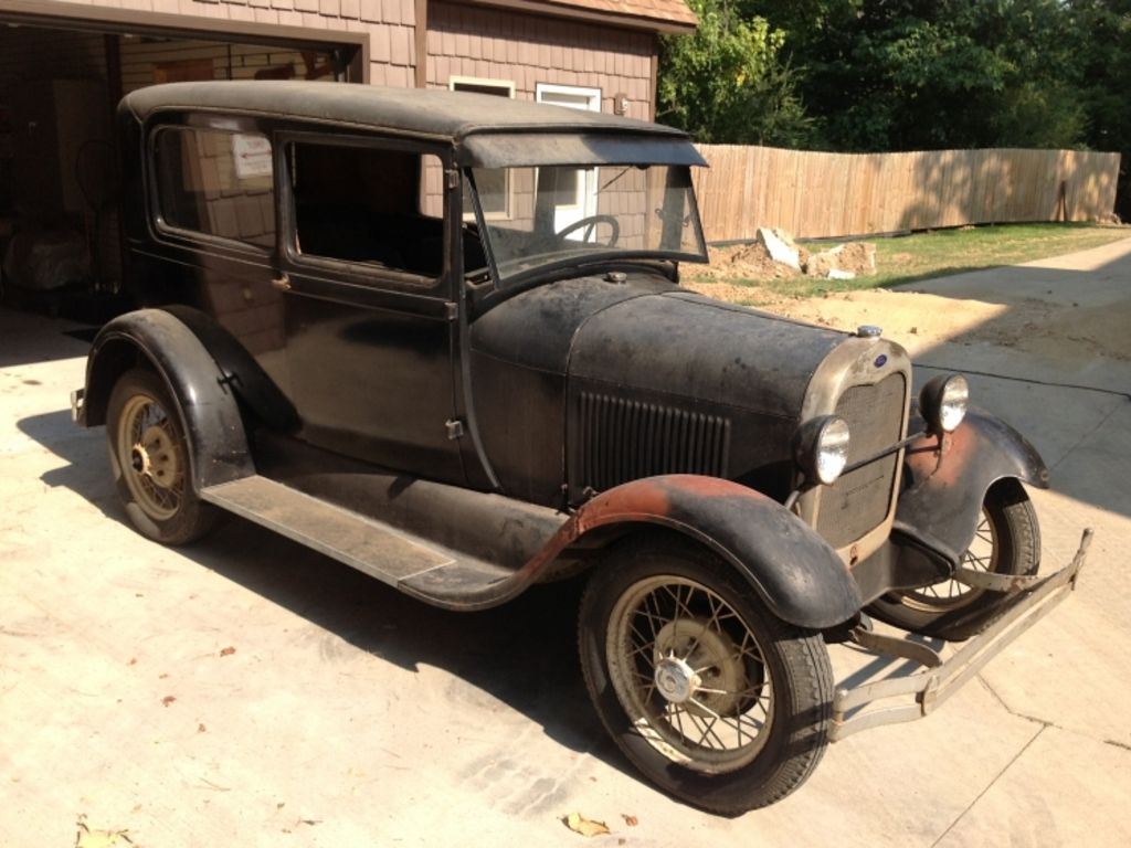 Ford brothers inc home for 1929 ford model a 4 door sedan