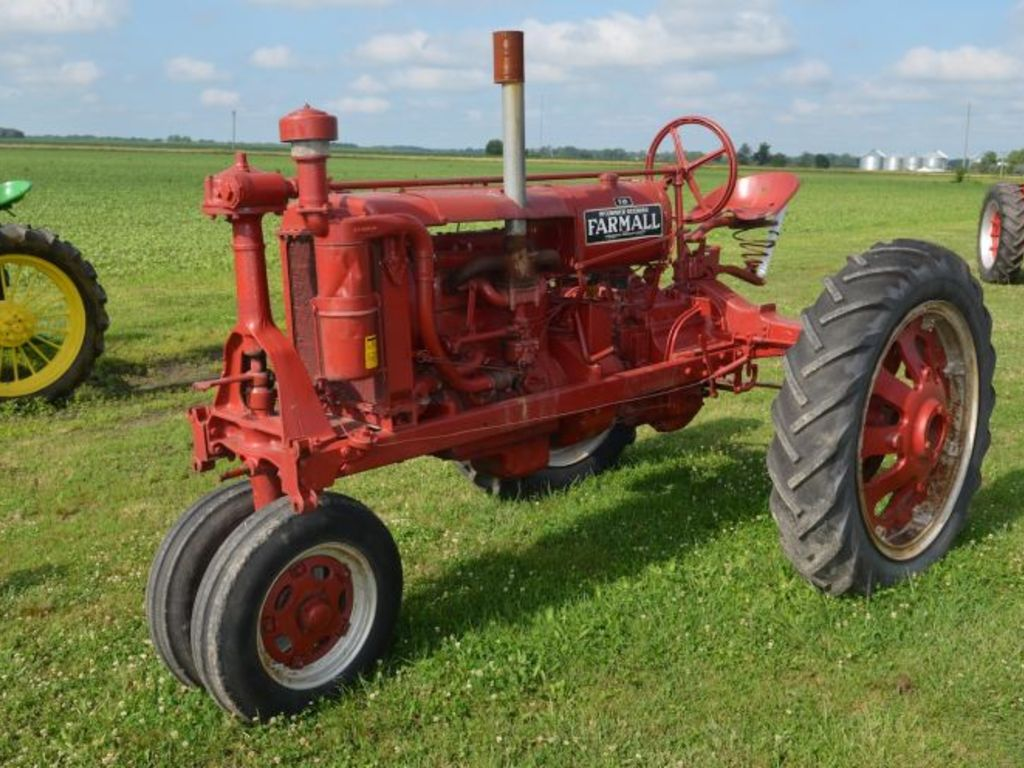 Where can you find antique tractor auctions?
