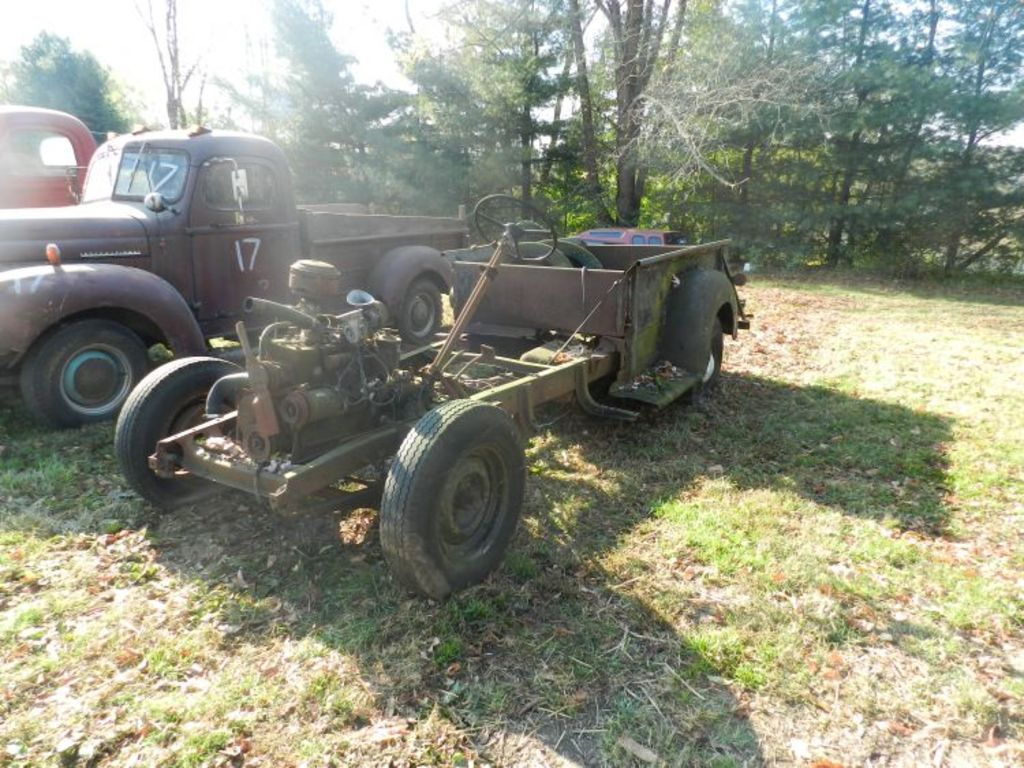Ih 2424 Tractor Loader : Old truck auction