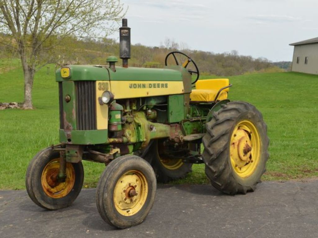 Old John Deere Tractor Parts : For sale pair of john deere tractors w consecutive serial