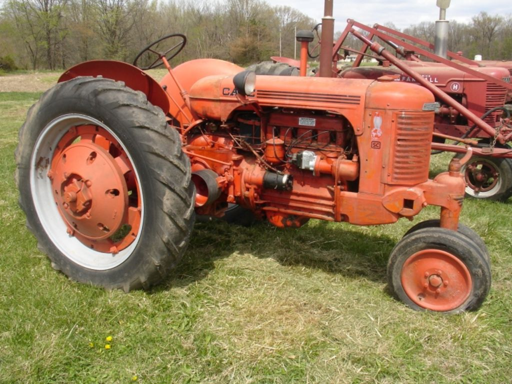 Vintage Allis Chalmers Tractors : Ford brothers inc allis chalmers antique tractor auction