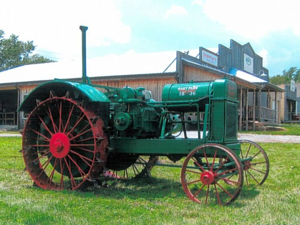 Beckort Auctions Llc Early Iron Antique Tractor Auction
