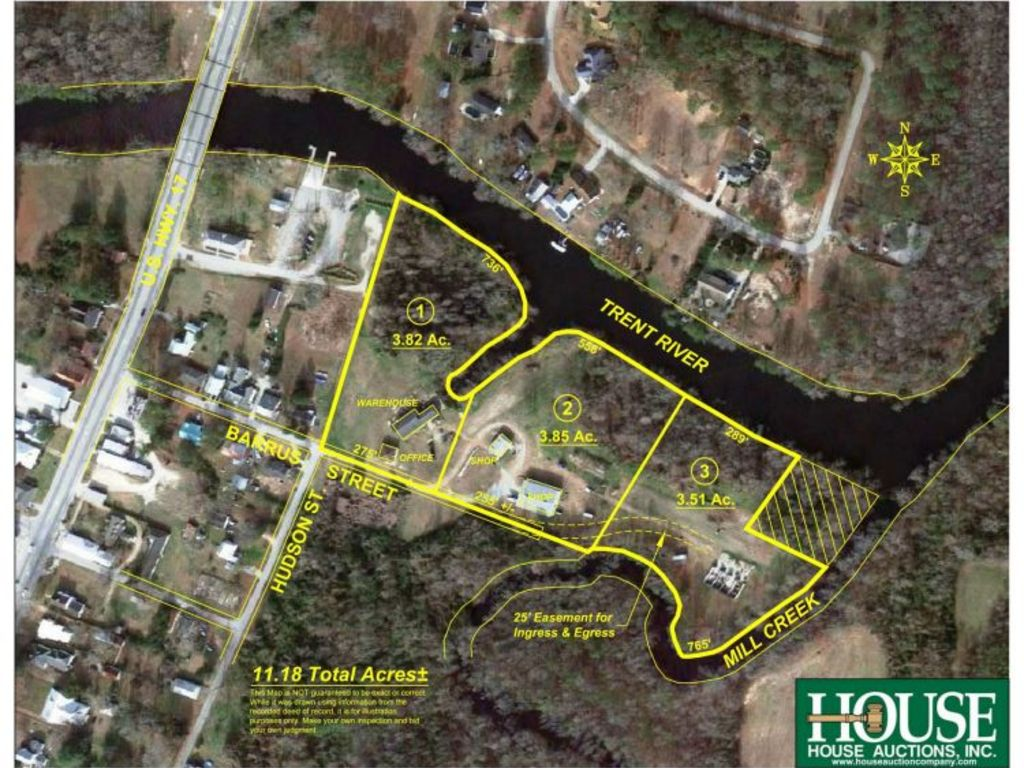 Waterfront Property for Sale – Trent River Jones County ...