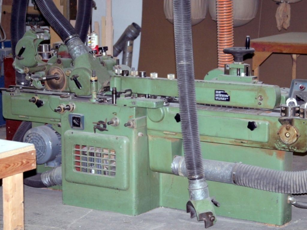 Creative In Addition To Its Bending Equipment, The Shop Also Has A Moulder For Surfacing  She Is Also A Contributor To FDMC And Other Woodworking Network Online And