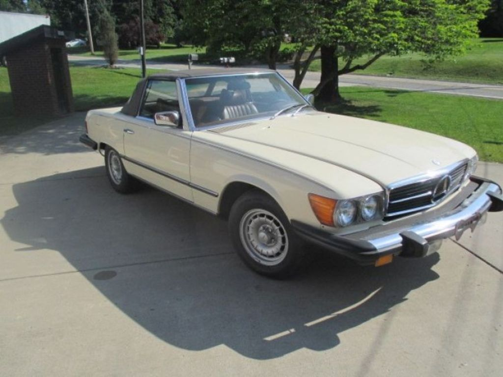 1978 mercedes benz convertible auction imperial pa for Mercedes benz lancaster pa