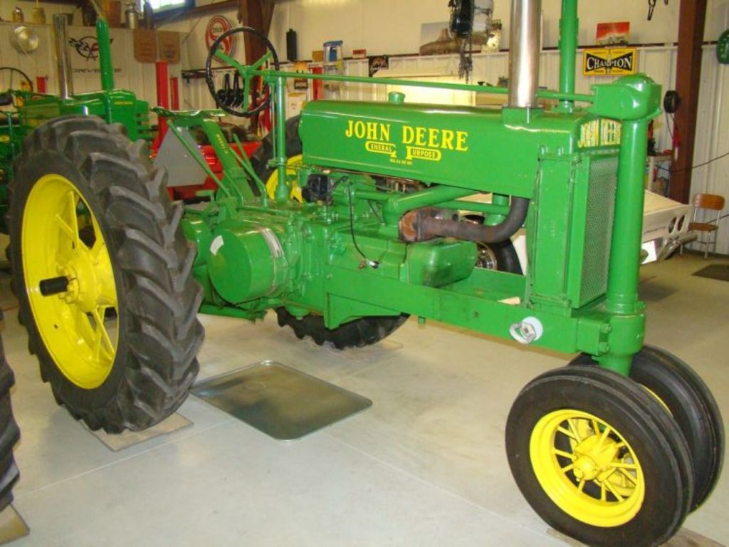 John Deere Tractor Cars : Early john deere tractors for sale classic cars