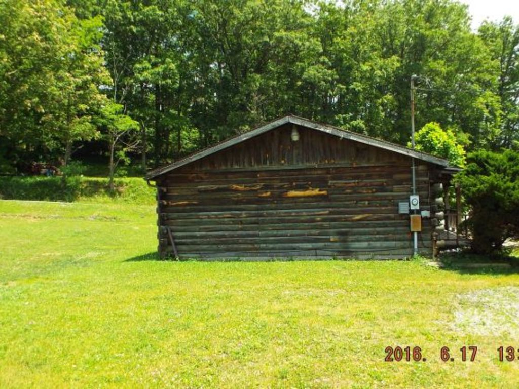 Log Cabin Real Estate Auction