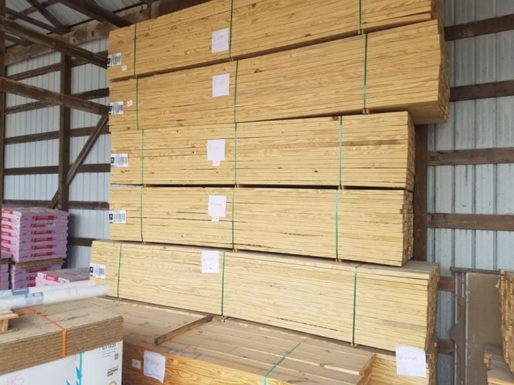 L w benton company inc square deal lumber inventory for Decking boards glasgow
