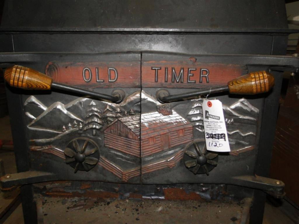 Old Timer Wood Stove WB Designs - Old Timer Wood Stove WB Designs