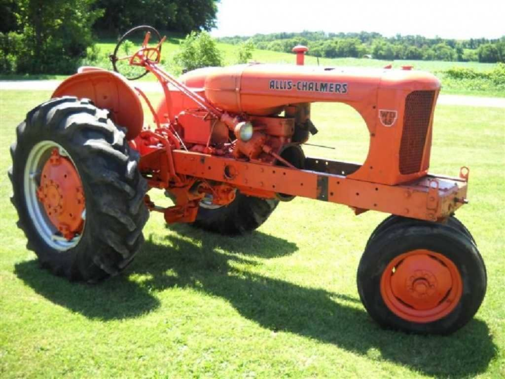 Allis Chalmers Wd45 : Allis chalmers wd ser factory power steering