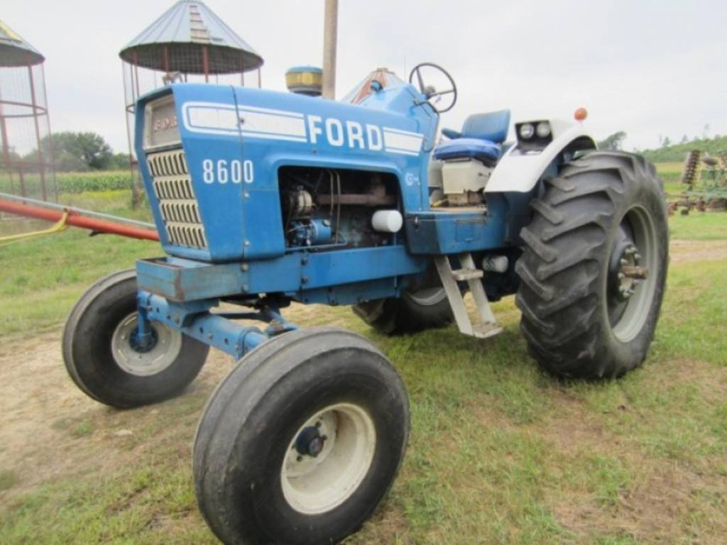 Ford 8600 Tractor Pto Assembly For : Ford tractor hp