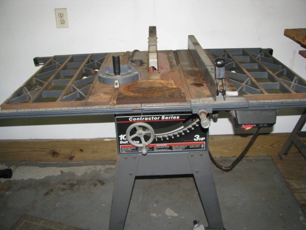 Craftsman Contractor Series Table Saw 3 Hp 10 Belt Drive