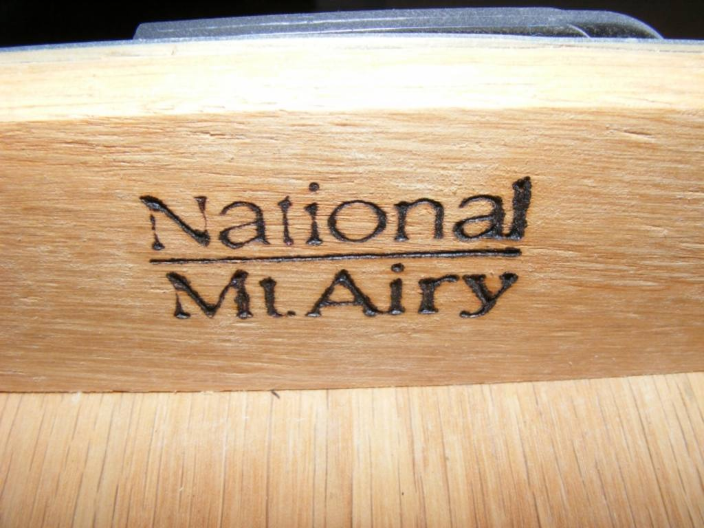 National Mt Airy Executive Desk