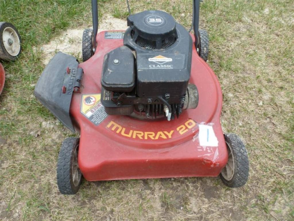 Murray 20 Push Mower Briggs Amp Stratton 3 5hp Engine