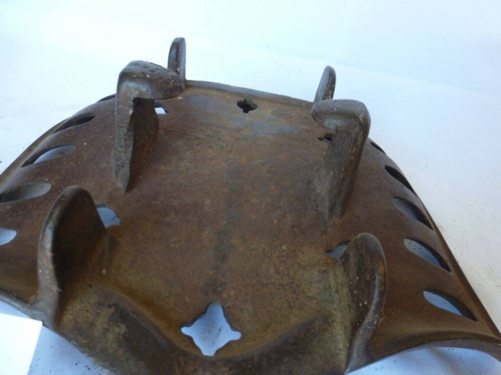 Antique Iron Tractor Seats : Antique dains cast iron tractor seat quot w