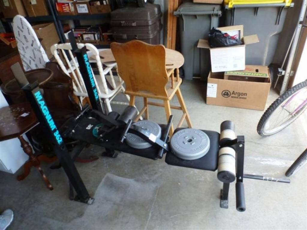 Dp Fit For Life Magnum 362 Weight Bench With 2 10lbs