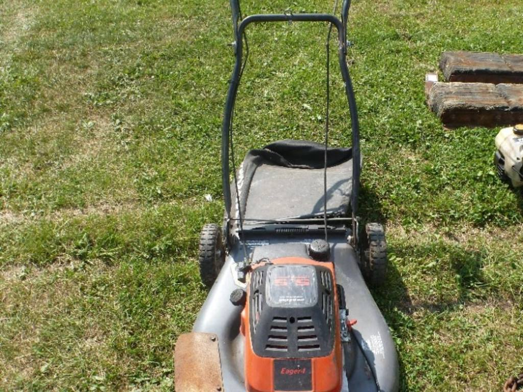 Craftsman Model 917 Push Mower : Craftsman ii quot self propelled push mower mulcher hp
