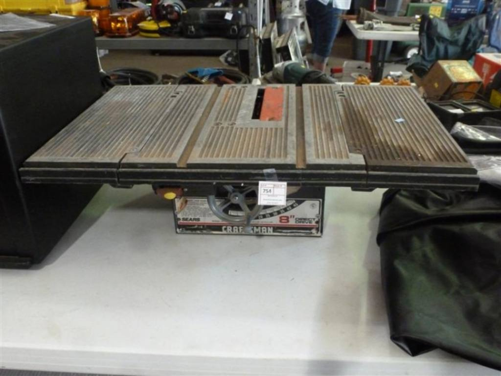 Craftsman 8 Direct Drive Table Top Table Saw Model
