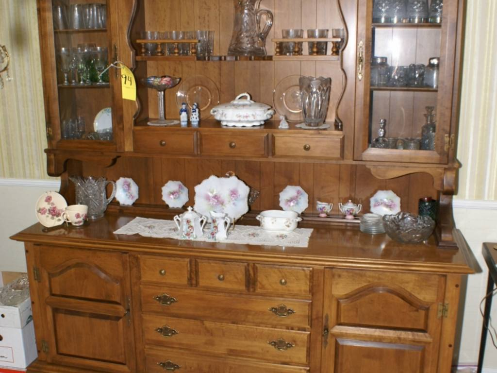 furniture kitchen cabinets sprague amp carleton maple china cabinet 15684