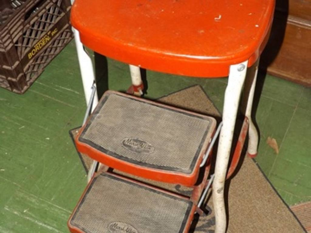 Vintage Marsh Allen Kitchen Step Stool