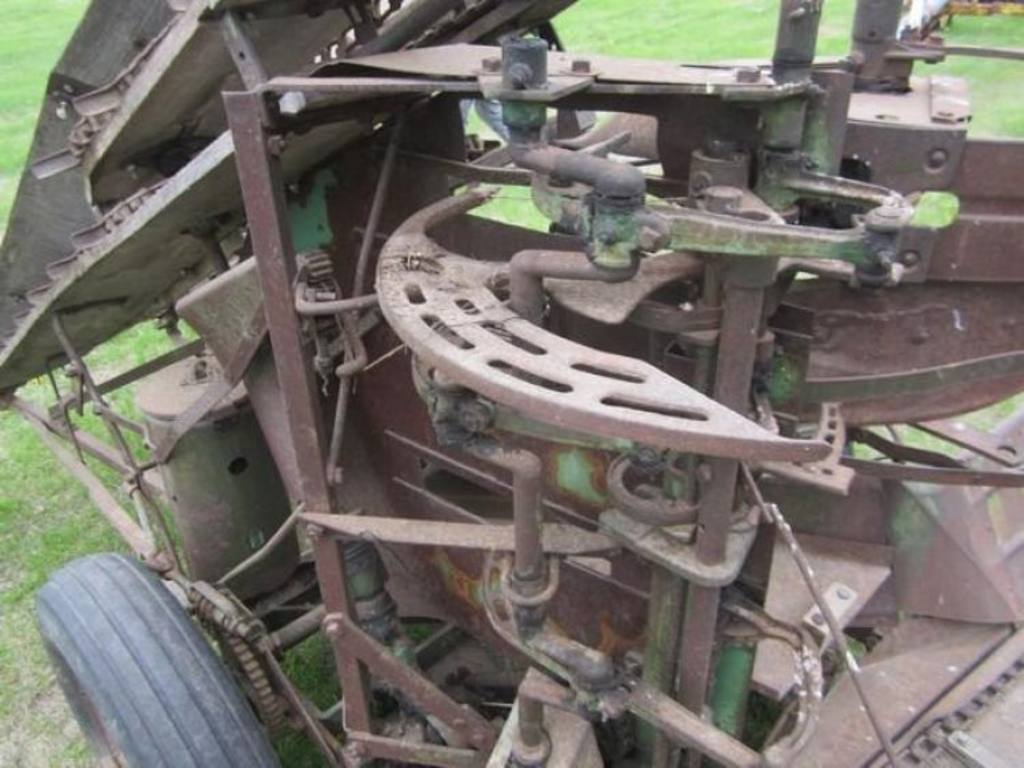 john deere pto corn binder auction k antique tractors john deere farm ...