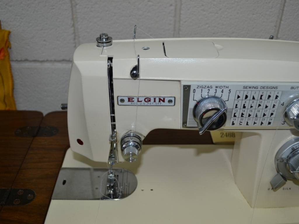 Elgin Sewing Machine Model 2468 Photos And Wallpapers