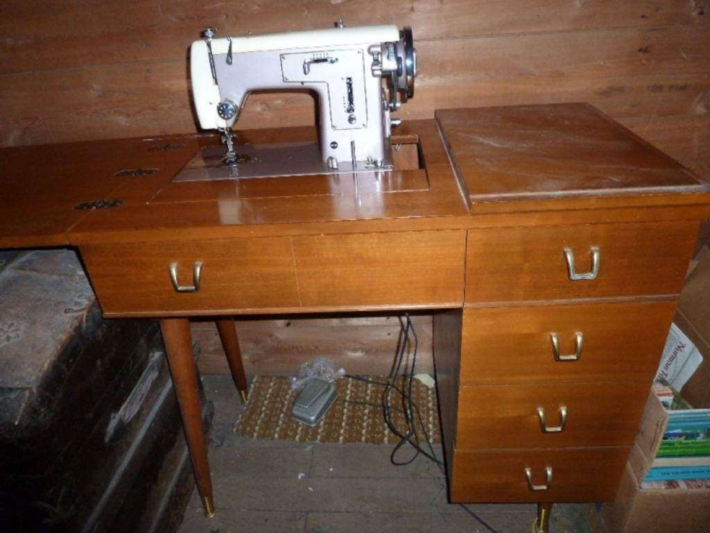 kenmore sewing machine cabinet