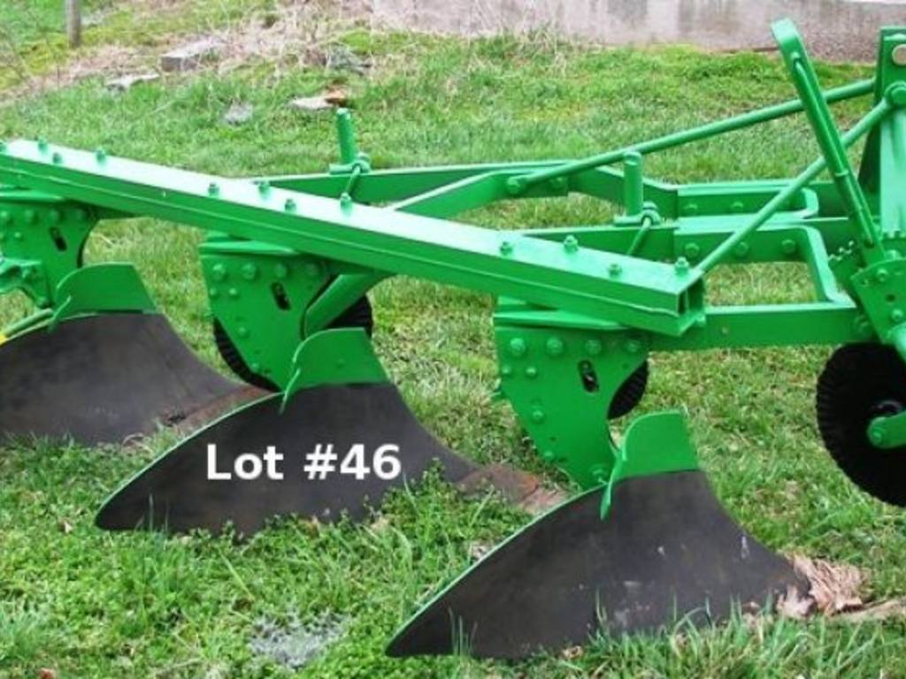 Three Point Plow : John deere a bottom plow with point hitch