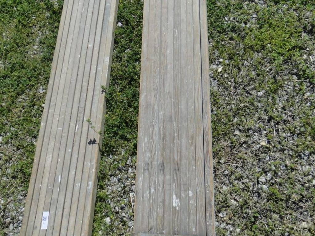 Expandable Walk Boards : Wooden expandable walk boards