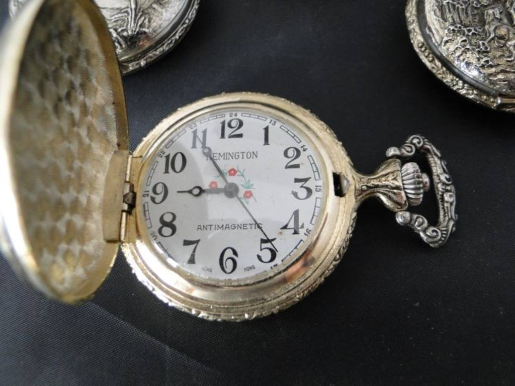 remington anti magnetic pocket watches