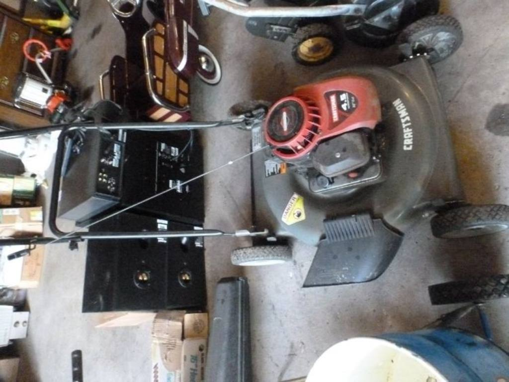 Craftsman Model 917 Push Mower : Craftsman quot push mower model with briggs and